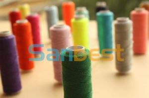 100% Polyester Sewing Thread on Small Reels pictures & photos