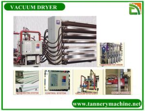 Leather Factory Machine for Hot Water Vacuum Dryer