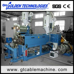 Computer Traversing Wire Cable Extruder Line pictures & photos