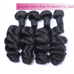 Unprocessed Natural Human Hair Weave in Stock Wholesale Virgin Brazilian Hair pictures & photos