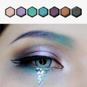 Eyeshadow Palette 125 Colors Glitter Matte Effect Eye Shadow Makeup Set Es0309 pictures & photos