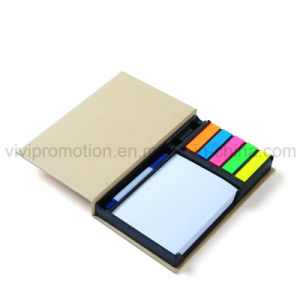 Kraft Paper Memo Pad with Pins for Office Work (GN007) pictures & photos