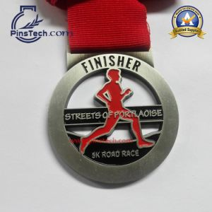 Custom Football Tournament Medal with Antique Gold Finish pictures & photos