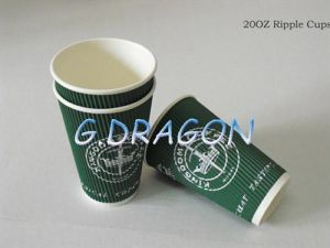 to Go Paper Cups for Hot or Cold Drinking (RPC-004) pictures & photos