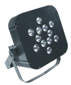 12*15W RGBWA+UV Indoor LED Flat PAR Can Wash Disco Light pictures & photos