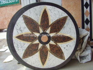 Marble Floor Waterjet Medallion Mosaic pictures & photos