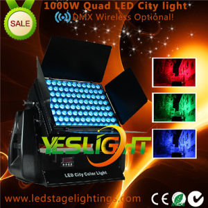 1000W Wireless LED City Light 96PCS*10W pictures & photos