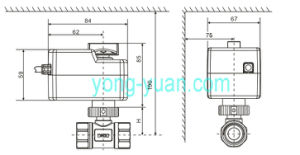 Experienced Manufacturer of Motorized Valve for Heating and Cold (BS-858-20) pictures & photos