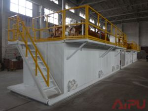 Well Drilling and Mud Cleaning Solids Control System