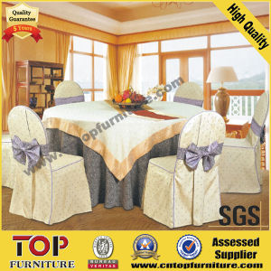 Wedding Polyester Chair Cover and Table Cloth pictures & photos