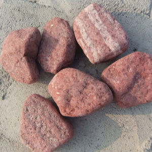 Red Jasper Mechanism Gravel Pebbles (SMC-MPR006) pictures & photos