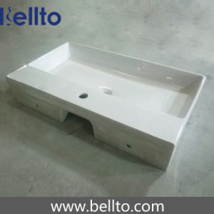 Wall Hung Wash Sink/Ceramic Bathroom Sink for Bathroom Accessories (3706) pictures & photos