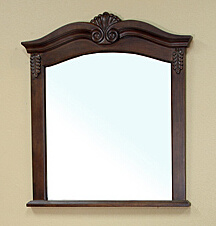 Wall Hanging Wooden Cosmetic Mirror Frame pictures & photos