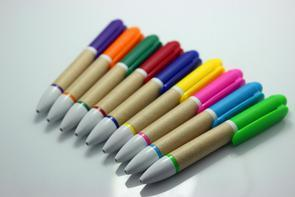 Colorful Paper Pen for Promotion pictures & photos