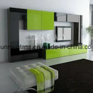 4mm 5mm 6mm Decorative Green Painted Glass pictures & photos