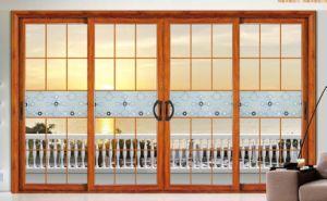 Free Design Aluminium Glass Door and Window French Windows pictures & photos