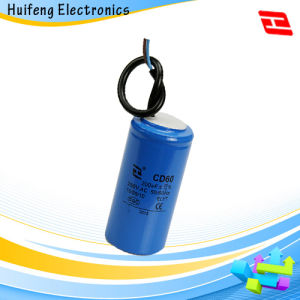Hf CD60 Electrolytic Motor Starting 250V 200UF Capacitor pictures & photos
