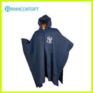 Adult Hooded PVC Rain Poncho (RVC-146) pictures & photos