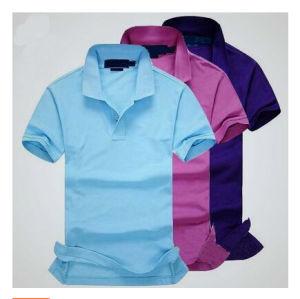 Men′s Colorful Basic Style Polo Shirt