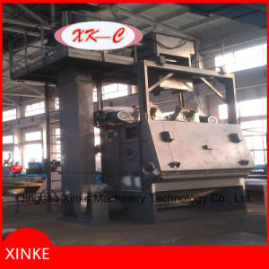 Automatic Feed Tumble Belt Type Sandblasting Machine pictures & photos