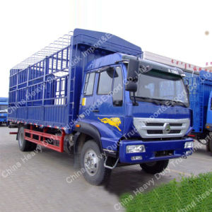 China Sinotruk New Yellow River 4*2 160HP Fence Truck pictures & photos