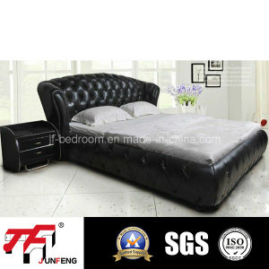 2016 New Design Leather Bed J-18