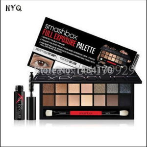 14 Color Box Palette Eyeshadow with Brand Mascara pictures & photos