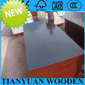 18mm Hot Sale Film Faced Plywood, 1220*2440mm Construction Formwork Plywood pictures & photos