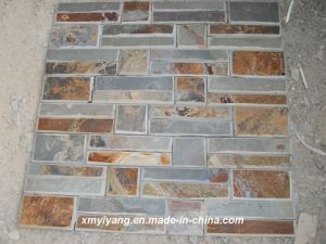 Culture Ledge Slate Stone for Walling Tile (YY-Stack Stone) pictures & photos