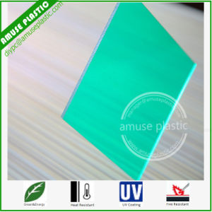 Bending Green Polycarbonate Solid Board Cut to Swimming Pool Size pictures & photos