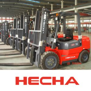 Hecha Forklift 3.5 Ton Diesel Forklift on Sale Ce Approved pictures & photos