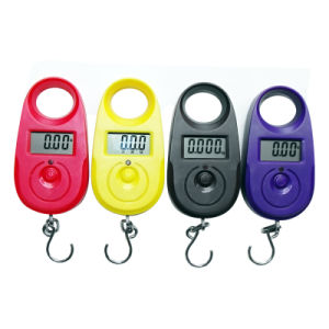 Electronic LCD Portable Luggage Scale with Hook (XF-A11) pictures & photos