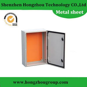 1.5mm Thick Sheet Metal Base Electrical Distribution Enclosure Box pictures & photos