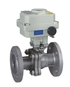 Motorized Flanged Ball Valve with Explosion Proof pictures & photos