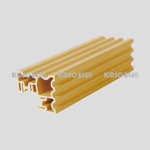 Wood Plastic Composite WPC Closet Wardrobe Decorative Profile (LMZ-5245) pictures & photos