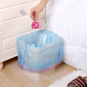 Cheap Plastic Kitchen Garbage Drawstring Bag pictures & photos