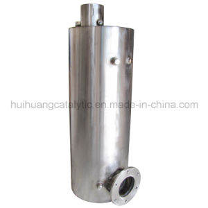 Euro 4 Gasoline and Diesel Engine Metallic Housing and Ceramic Core SCR Catalytic Muffler pictures & photos