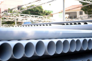 PVC Pipe with Rrj and Swj / Plastic Pipe Fittings pictures & photos