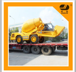 New Product 3.5 M3 Self Loading (concrete mixer truck machine) pictures & photos