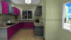 Modern Stainless Steel Kitchen Furniture (MK037)