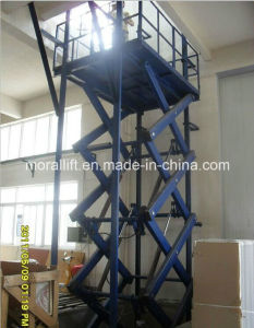 CE Approved 3 Ton Scissor Hoist Platform (SJG) pictures & photos