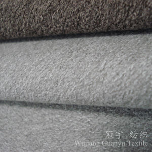 Wool Touch Home Textile Polyester Fabric for Sofa Covers pictures & photos
