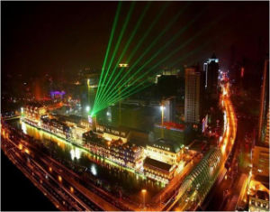 Outdoor 20-30W High Power Green Sky Outdoor Laser Light pictures & photos