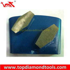 HTC System Concrete Metal Segment Grinding Diamonds pictures & photos