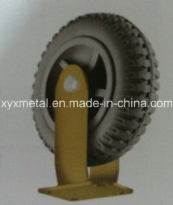Heavy Duty Caster Wheel Foaming Rubber Caster Wheel, Tire, Gear Caster pictures & photos