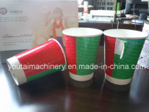 Full Automatic Double Wall Sleeving Cup Machine pictures & photos