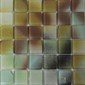 Discover 2X2 Heritage Gold Leaf Glass Tiles
