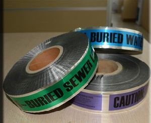SGS High-Grade Underground Detectable Warning Tape pictures & photos