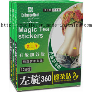Left-Handed 360 Magic Tea Stickers for Weight Loss pictures & photos
