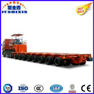 80t-500t Hydraulic Multi-Axles Modular Trailer, Truck Semi Trailer pictures & photos